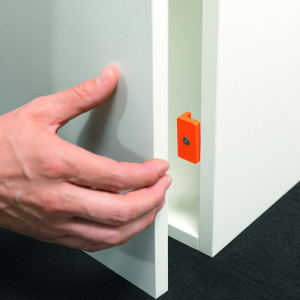 plantilla de posicionamiento para placa adhesiva